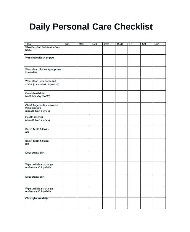 Forklift Daily Checklist Template