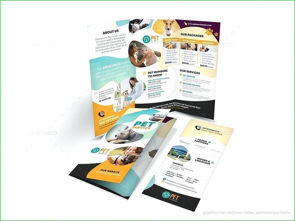 Free 3 Fold Brochure Template For Word