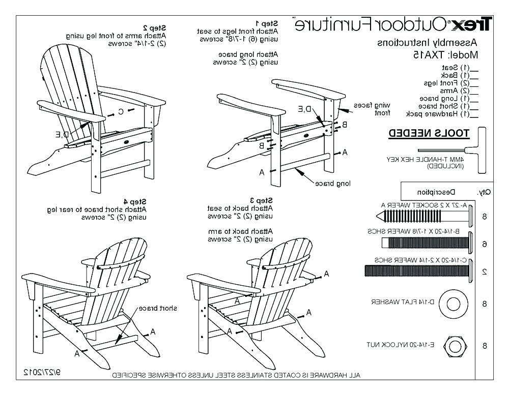 Free Adirondack Chair Plans And Templates