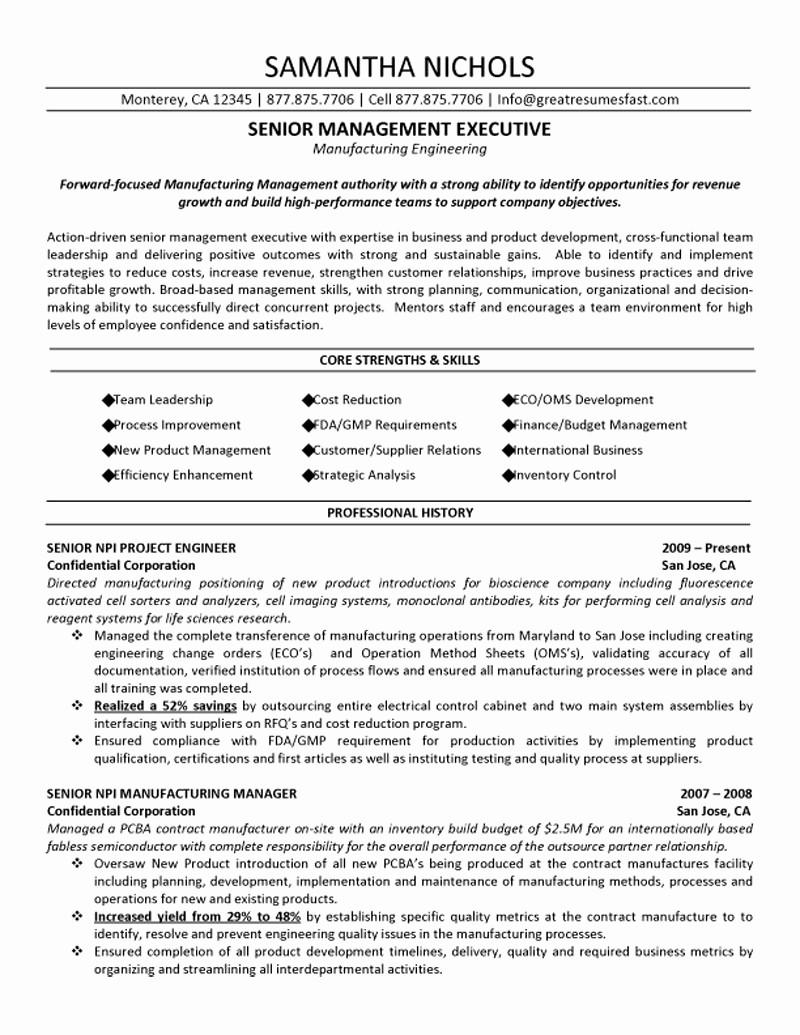 Free Assistant Manager Resume Templates