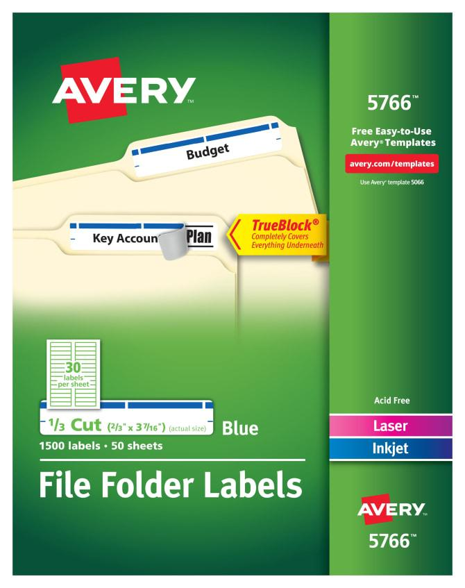 Free Avery Label Templates 5766