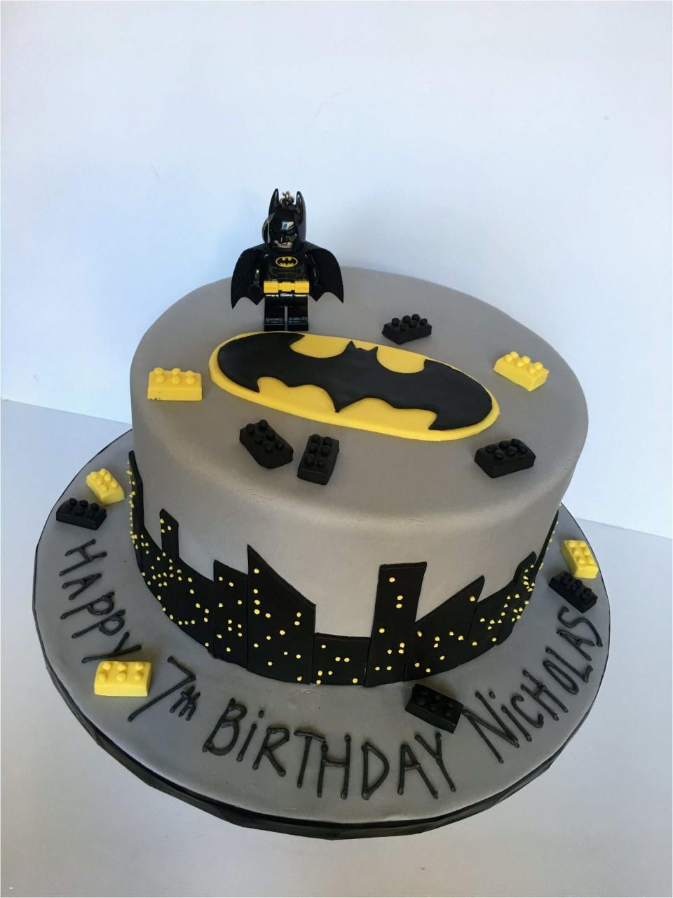 Free Batman Cake Template