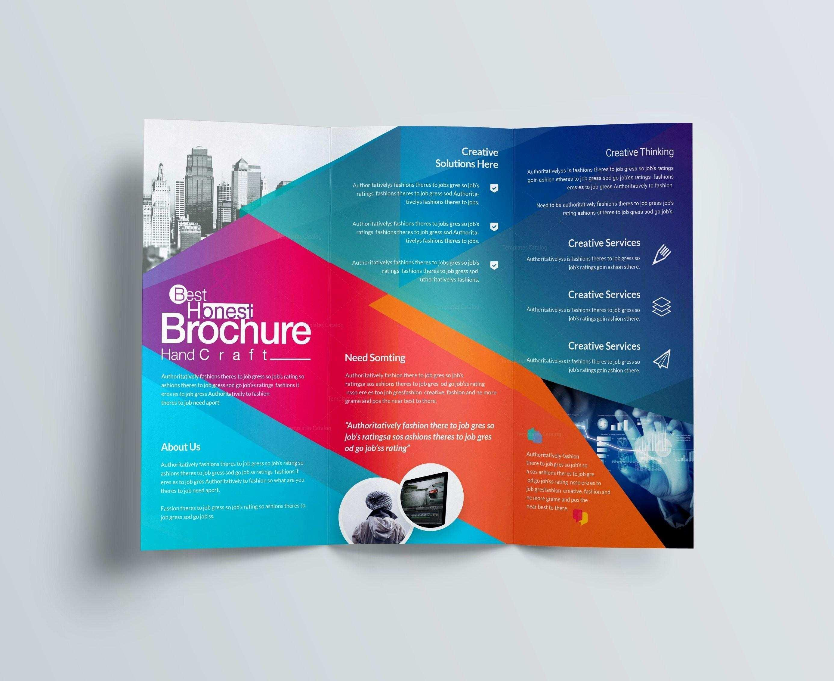 Free Brochure Templates For Publisher