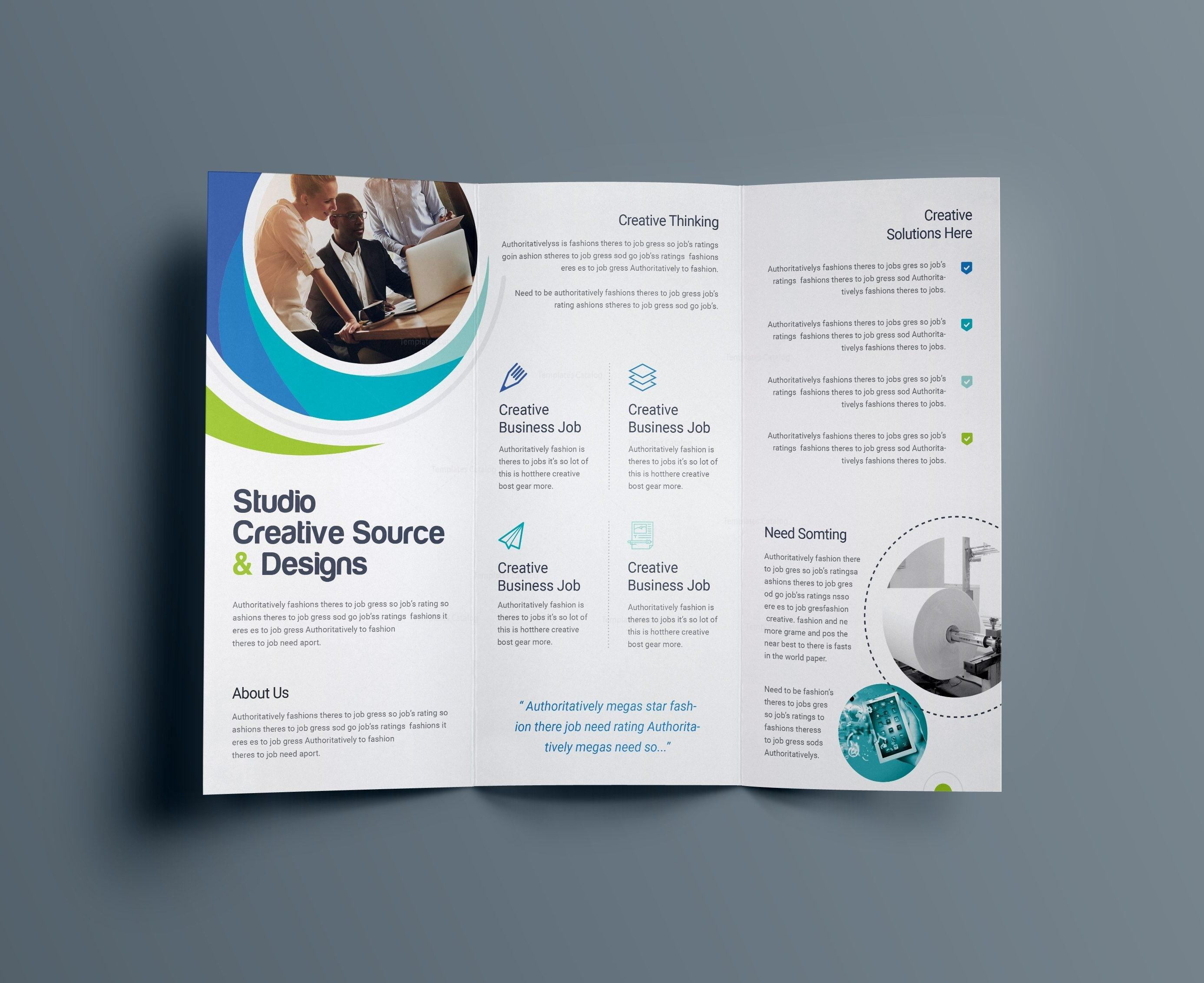 Free Brochure Templates Publisher
