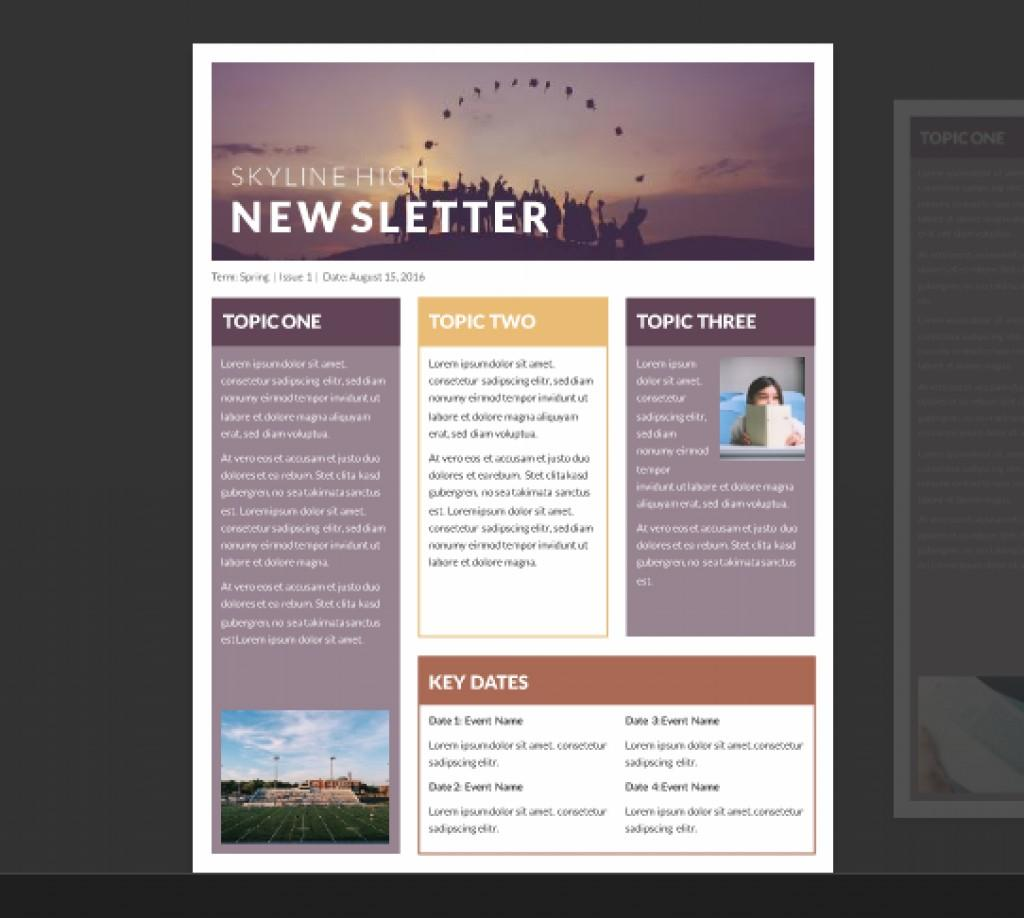 Free Business Newsletter Templates Word