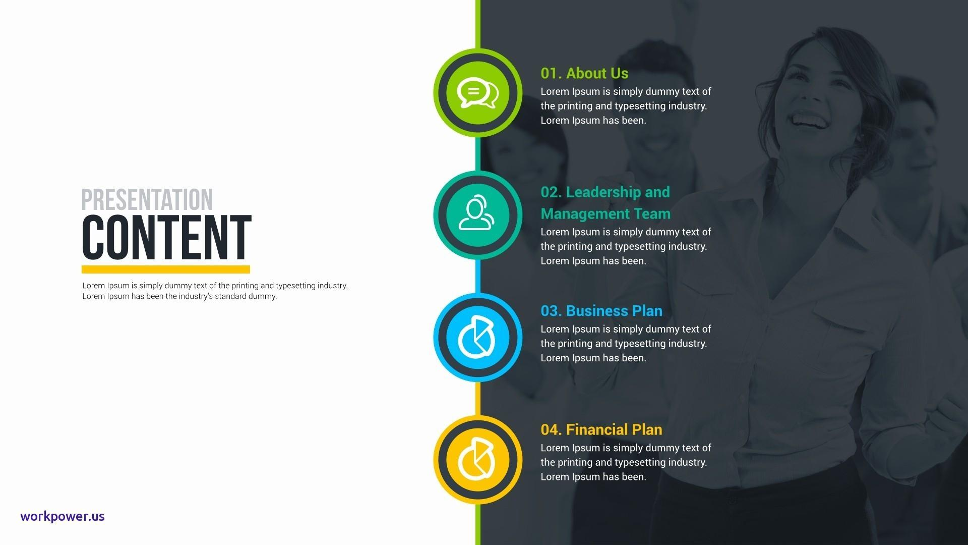 Free Business Plan Powerpoint Template Download