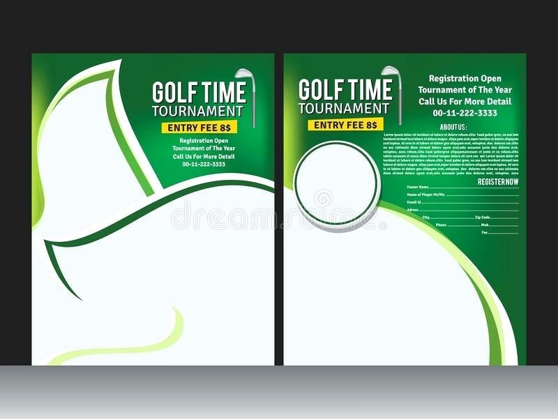 Free Charity Golf Tournament Flyer Template