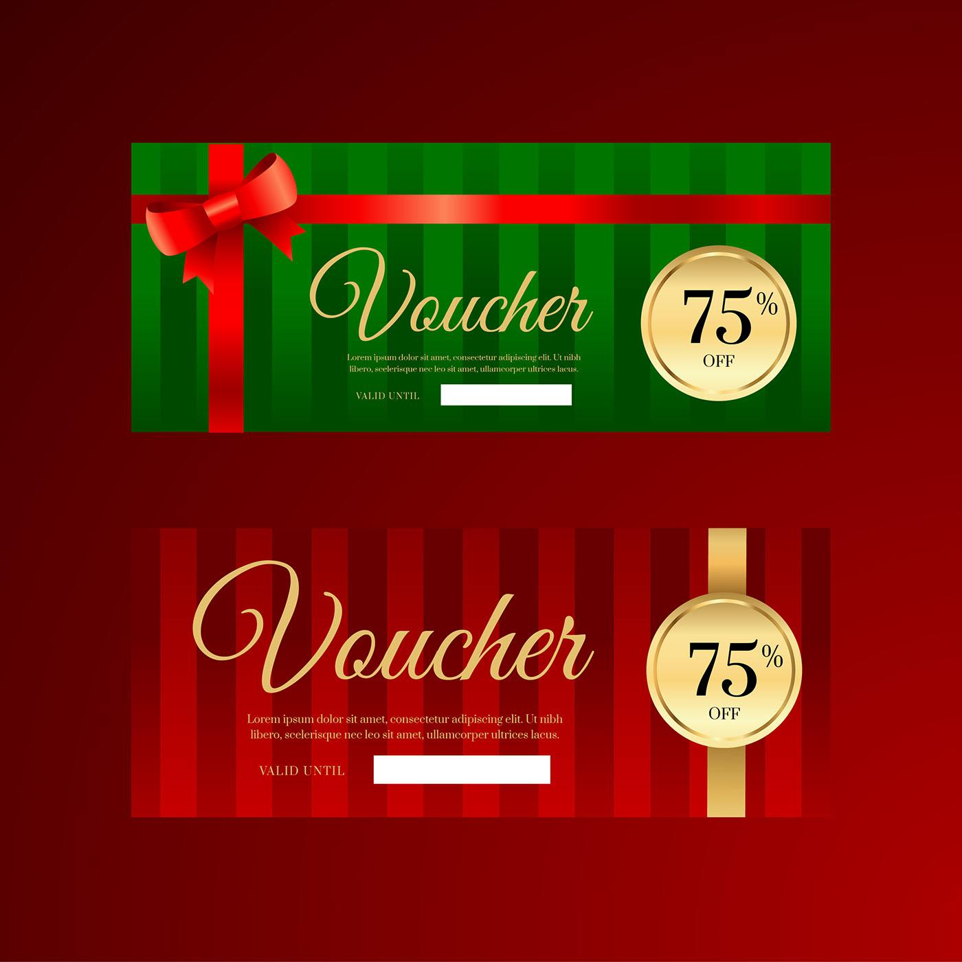 Free Christmas Gift Voucher Templates Download