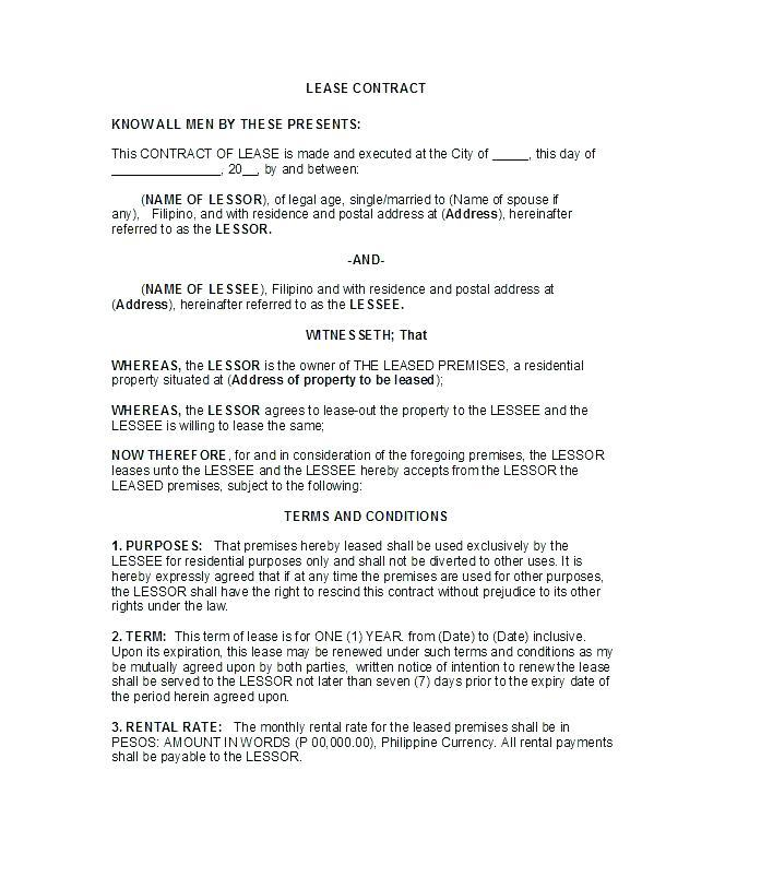 Commercial Sublet Lease Agreement Template Templates