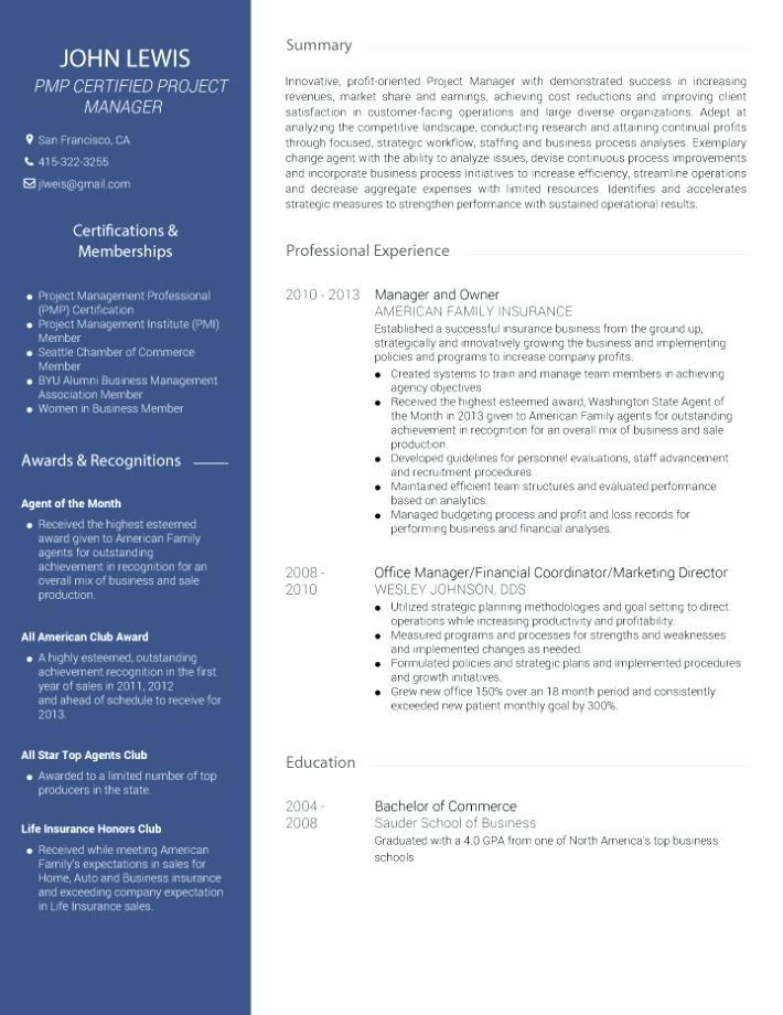 Free Digital Marketing Resume Templates