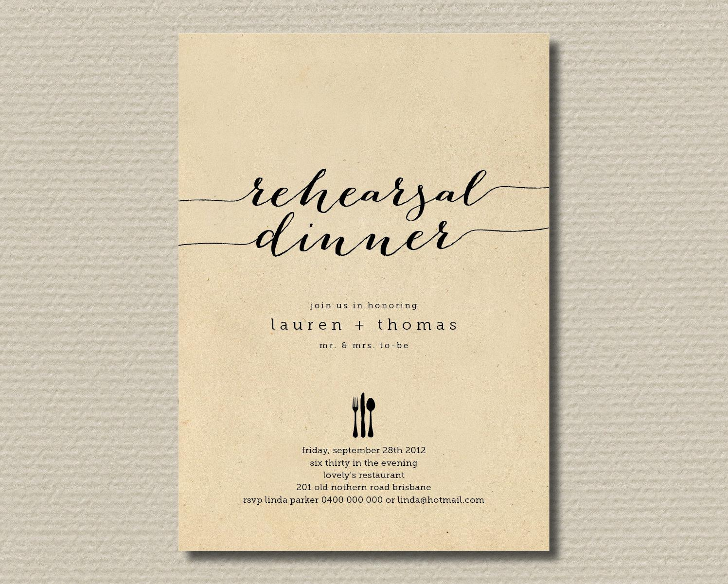 Free Dinner Invitation Templates