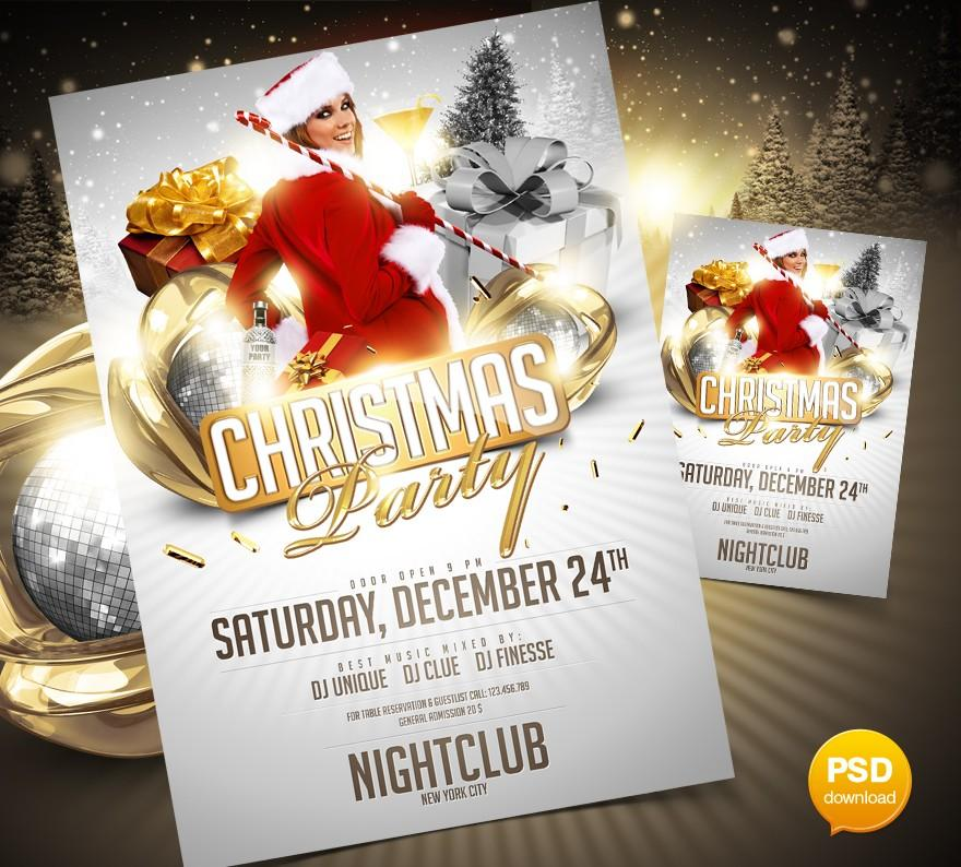 Free Download Christmas Flyers Templates