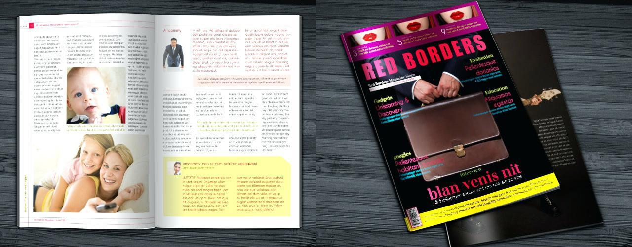 Free Download Indesign Magazine Layout Templates