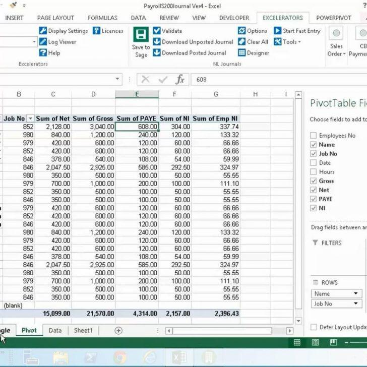 Free Download Payroll Calculator Template