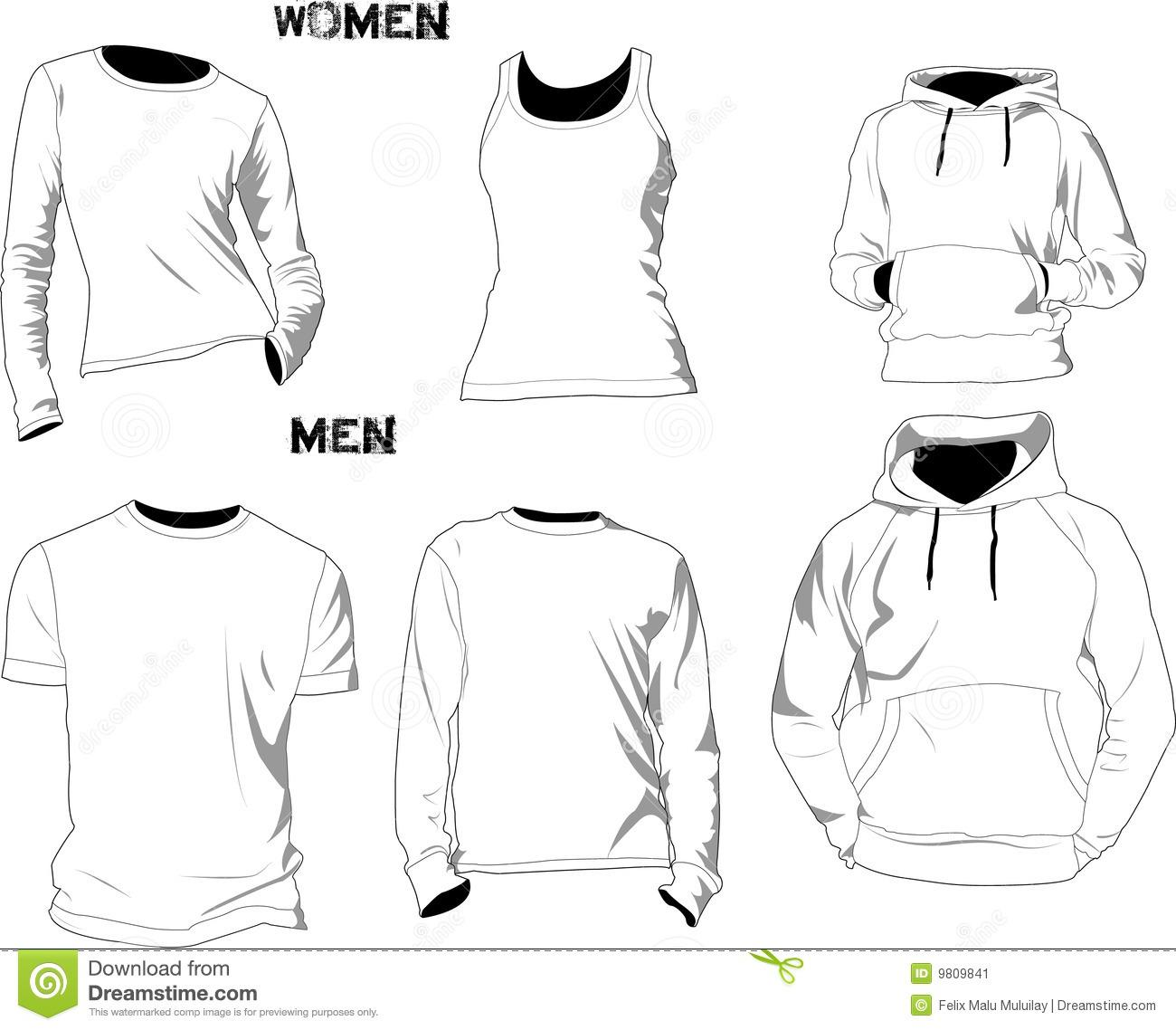Free Download Polo Shirt Template Psd
