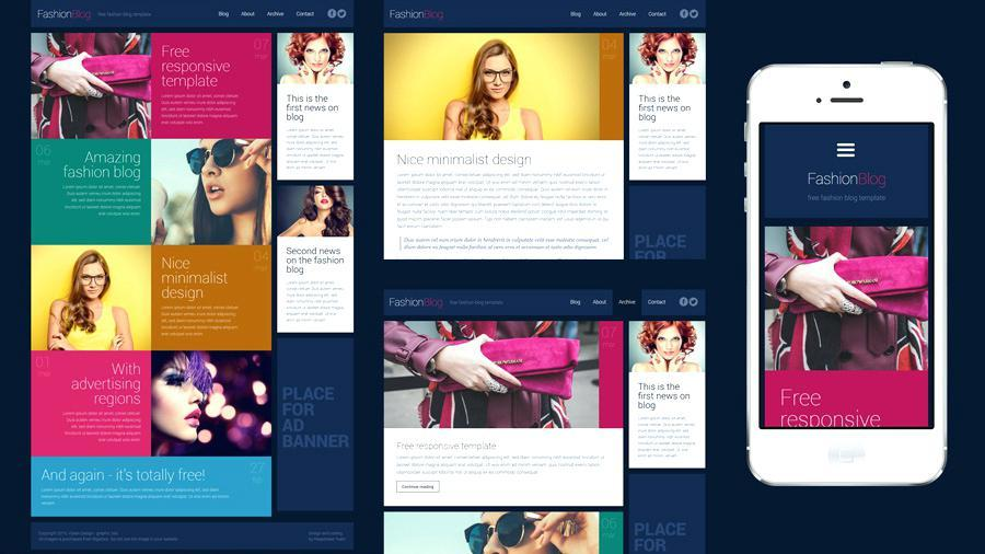 Free Dreamweaver Responsive Website Templates