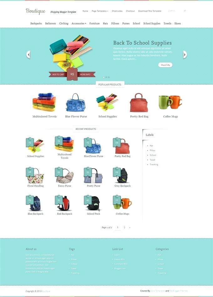 Free Dreamweaver Shopping Cart Templates