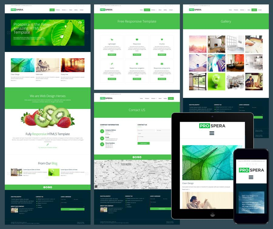 Free Dreamweaver Templates Responsive Design