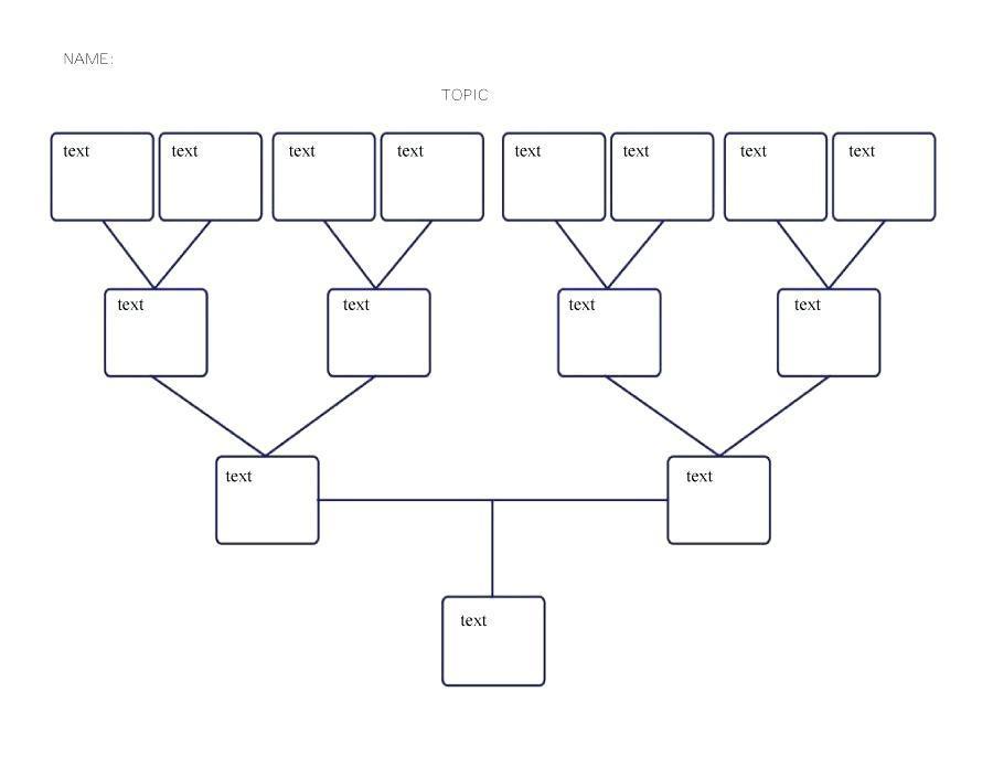 Free Editable Blank Family Tree Template