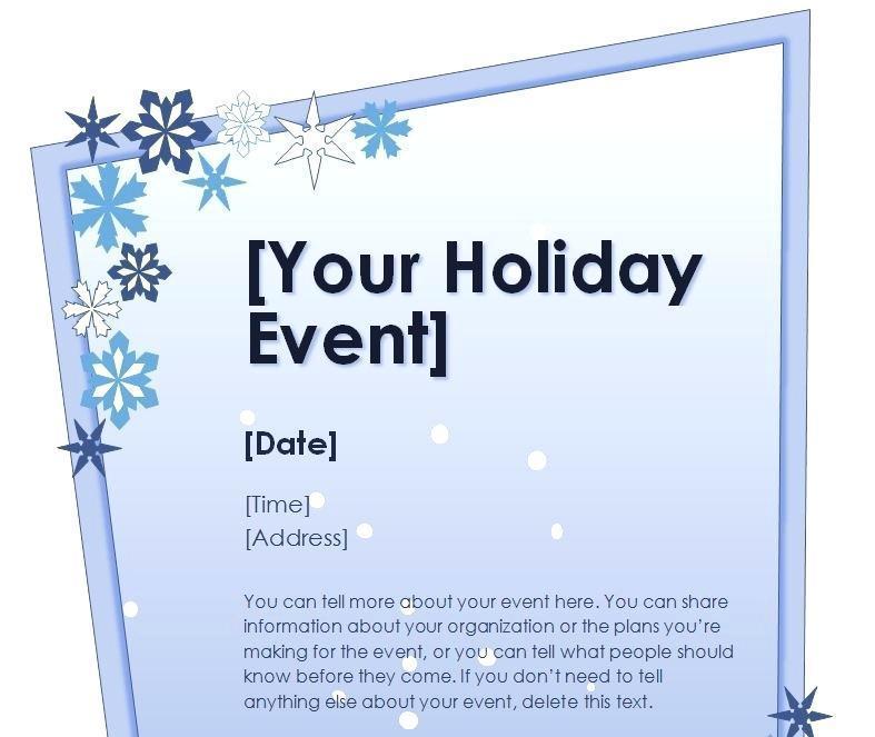 Free Editable Christmas Flyer Templates