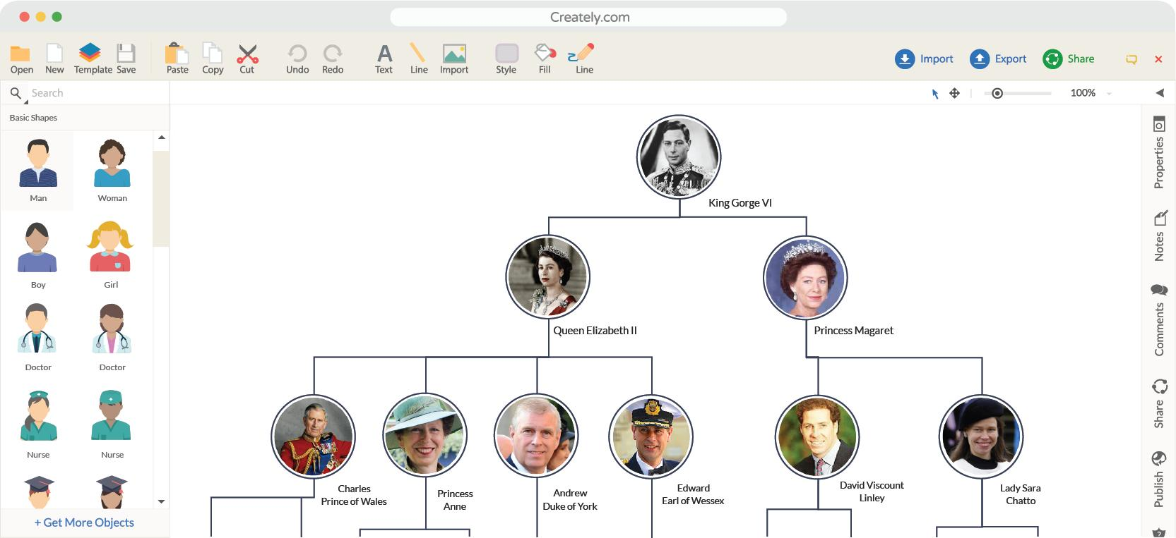Free Editable Family Tree Template Apk