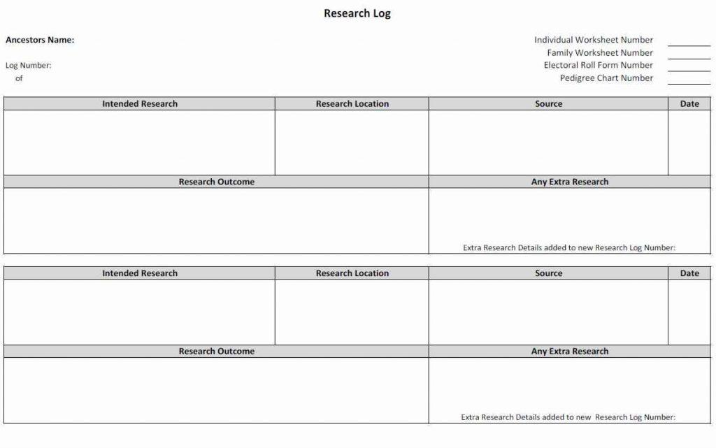 Free Editable Family Tree Template Excel - Templates #76947 | Resume