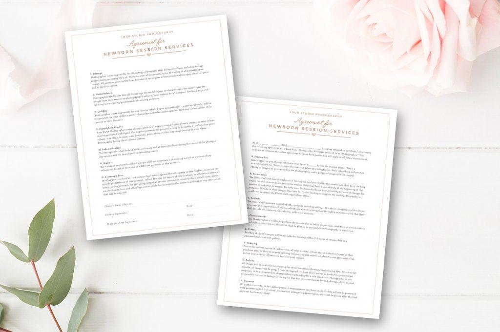 Free Event Photography Contract Template