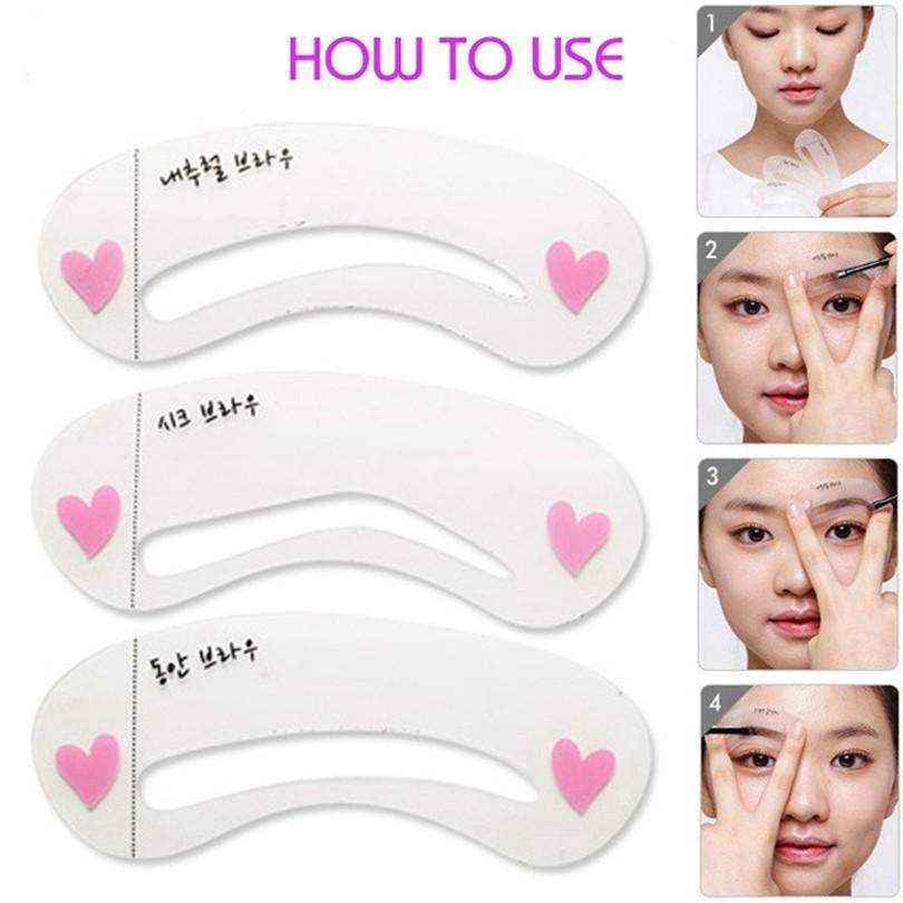 Free Eyebrow Shaping Templates