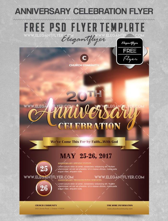 Free Flyer Templates For Church Events