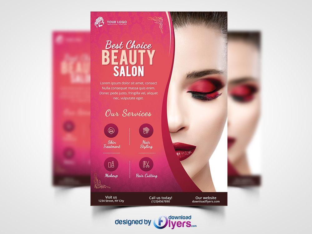 Free Hair Salon Flyer Templates