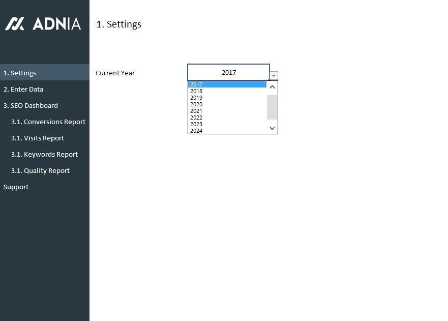 Free Hr Metrics Dashboard Template