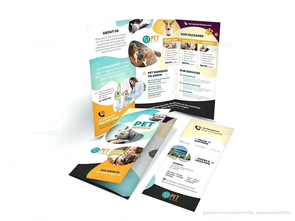 Free Indesign Bi Fold Brochure Templates