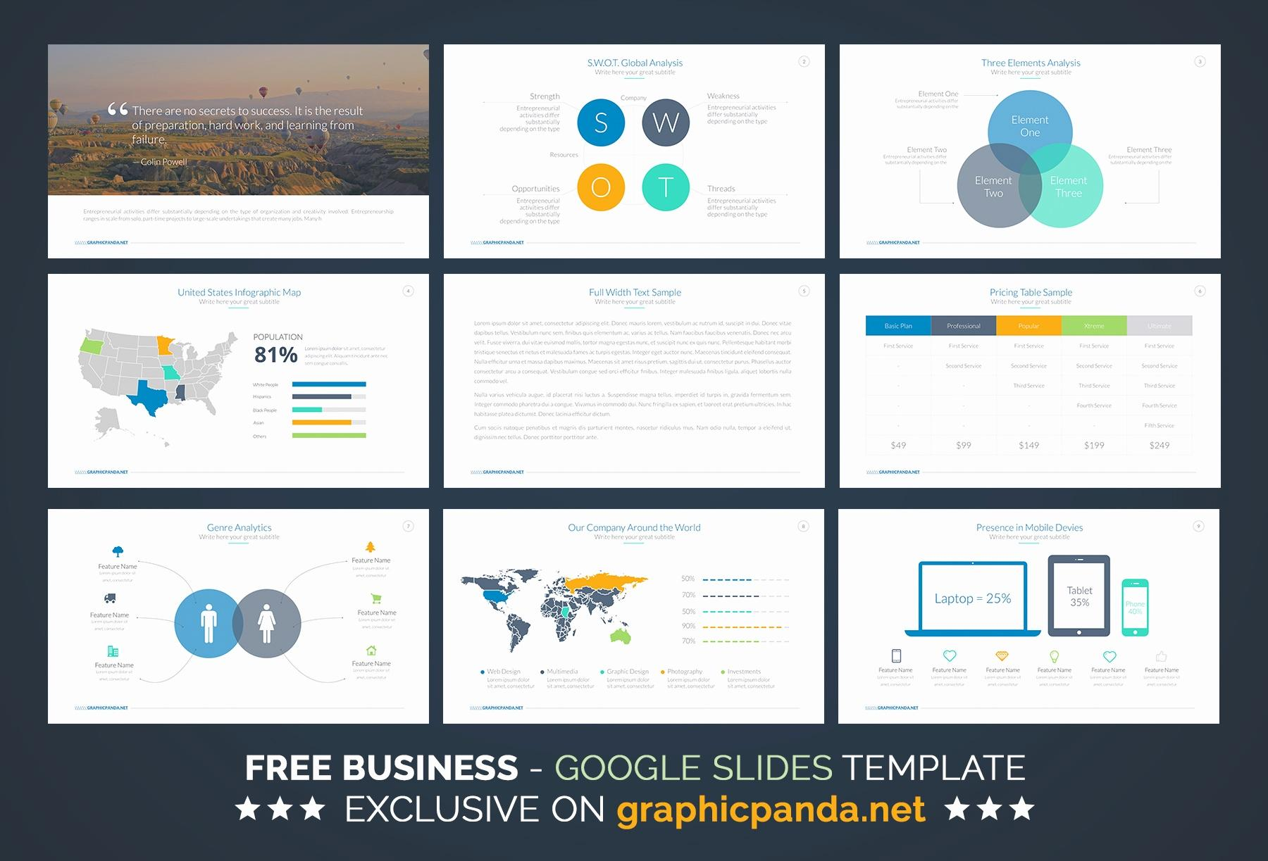 Free Investor Pitch Deck Powerpoint Template