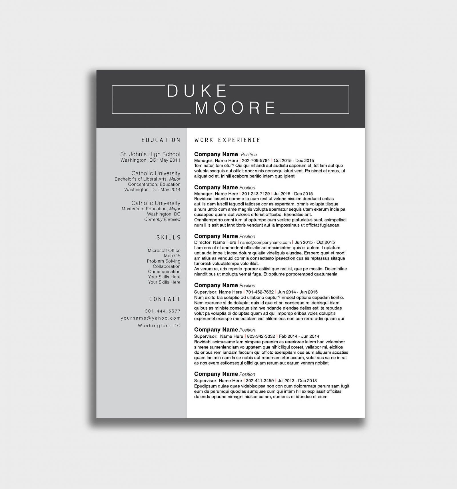 Free Invoice Template Docx