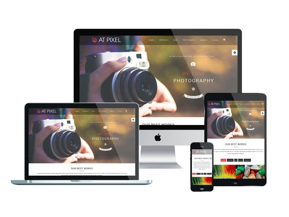 Free Joomla Photography Website Templates