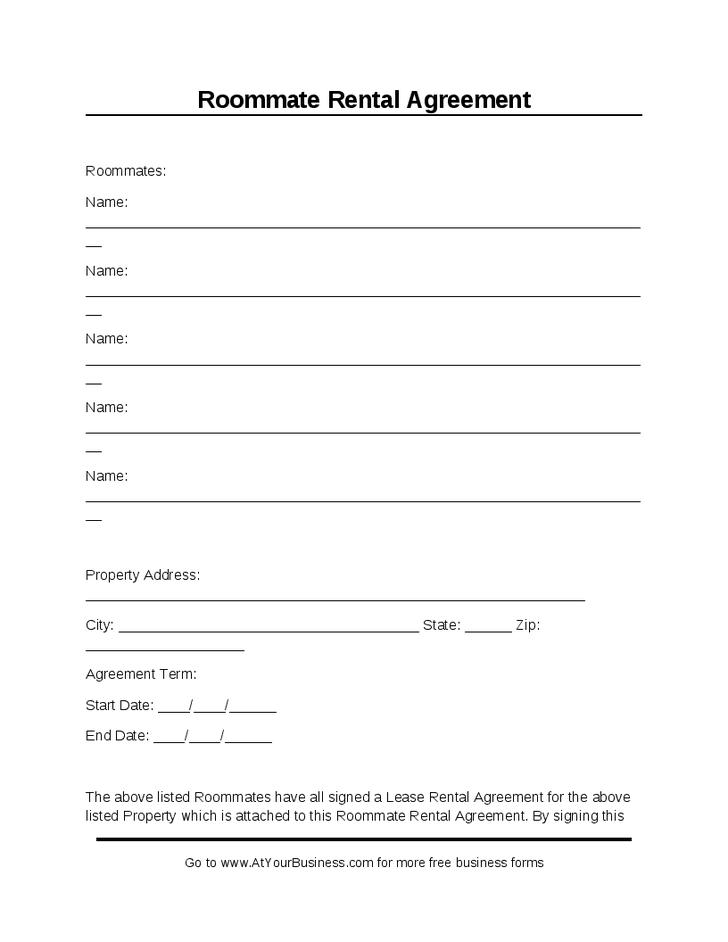 Free Lease Agreement Template Word Doc