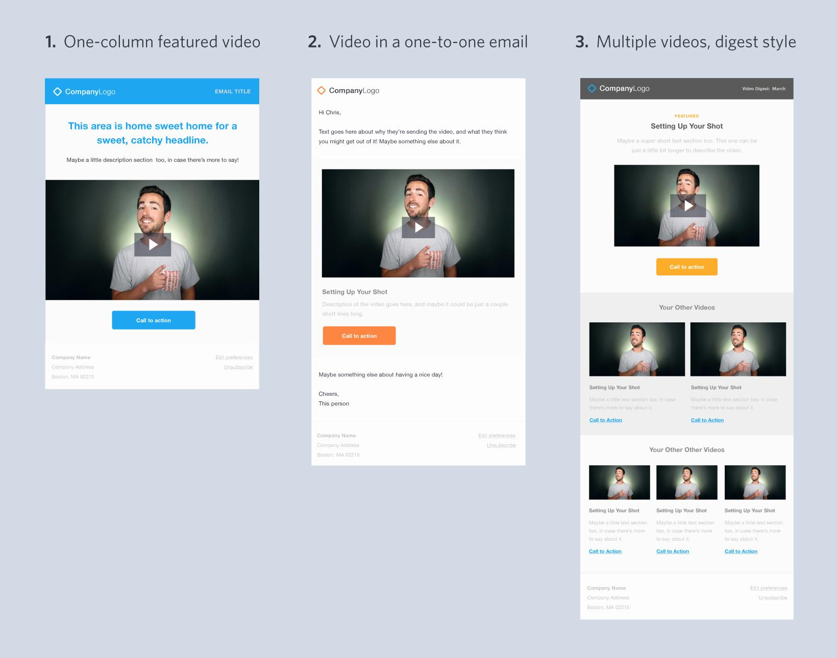 Free Newsletter Templates For Mailchimp