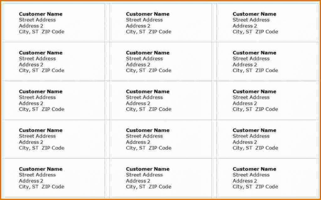 Free Online Printable Address Label Templates