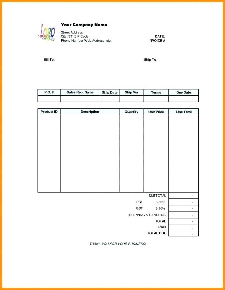 Free Online Simple Invoice Template