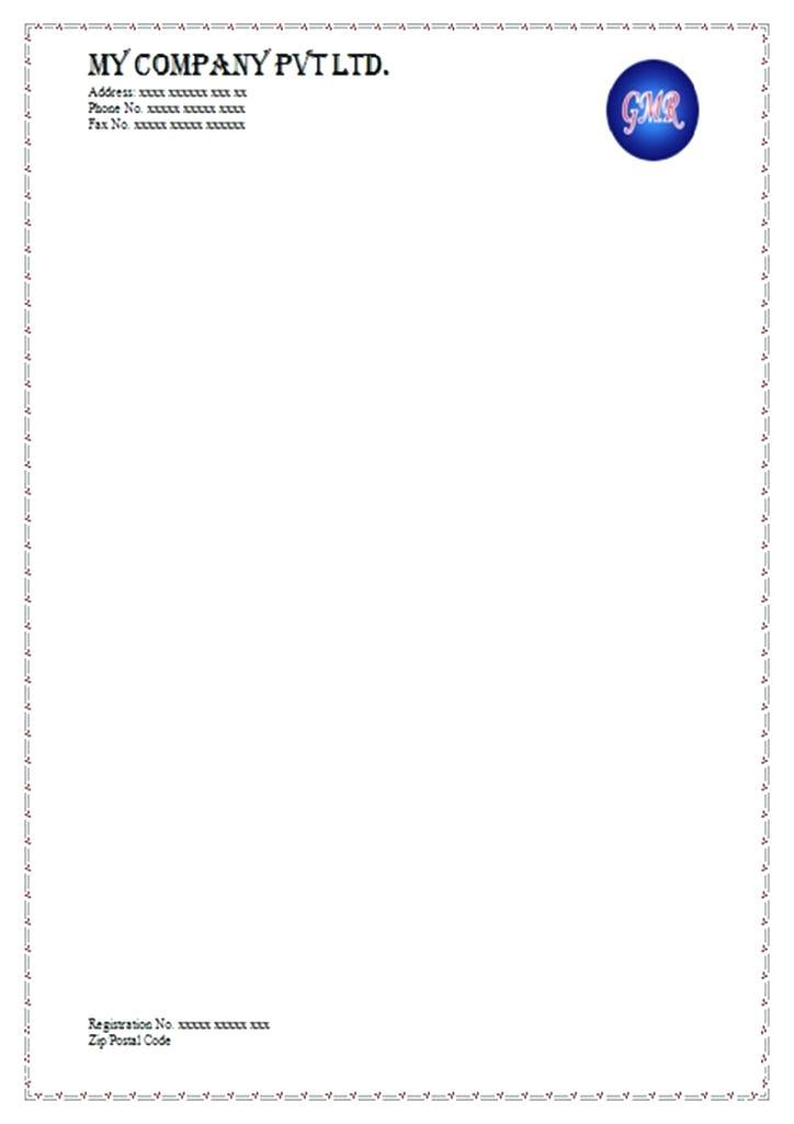 Free Personal Letterhead Templates Download