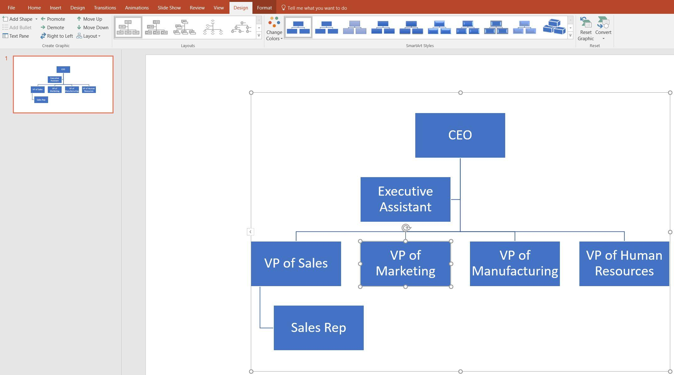 Free Powerpoint Org Chart Template 2010