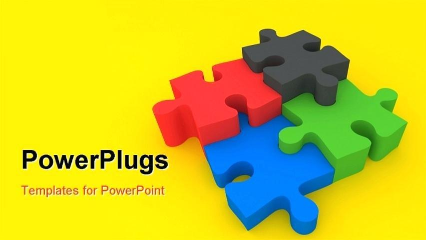 Free Powerpoint Presentation Templates Puzzle