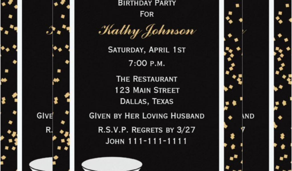 Free Printable Birthday Invitations Templates For Adults