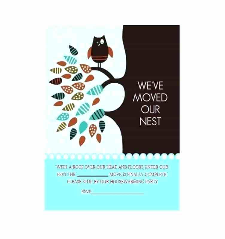 Free Printable Housewarming Invitation Templates