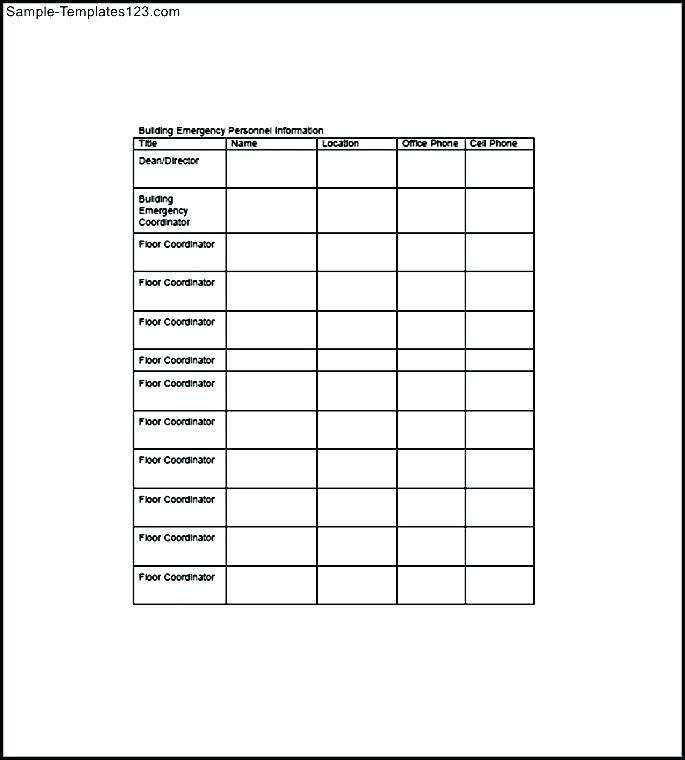 Free Printable Punch List Template