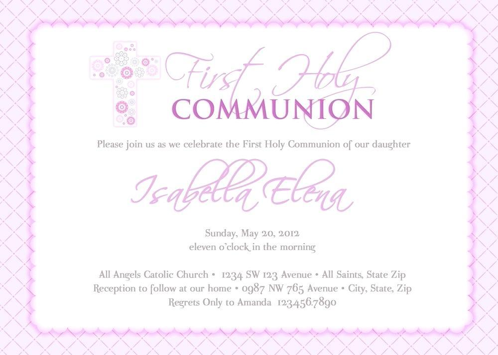 graphic relating to First Holy Communion Cards Printable Free titled No cost Printable Templates For To start with Communion Invites