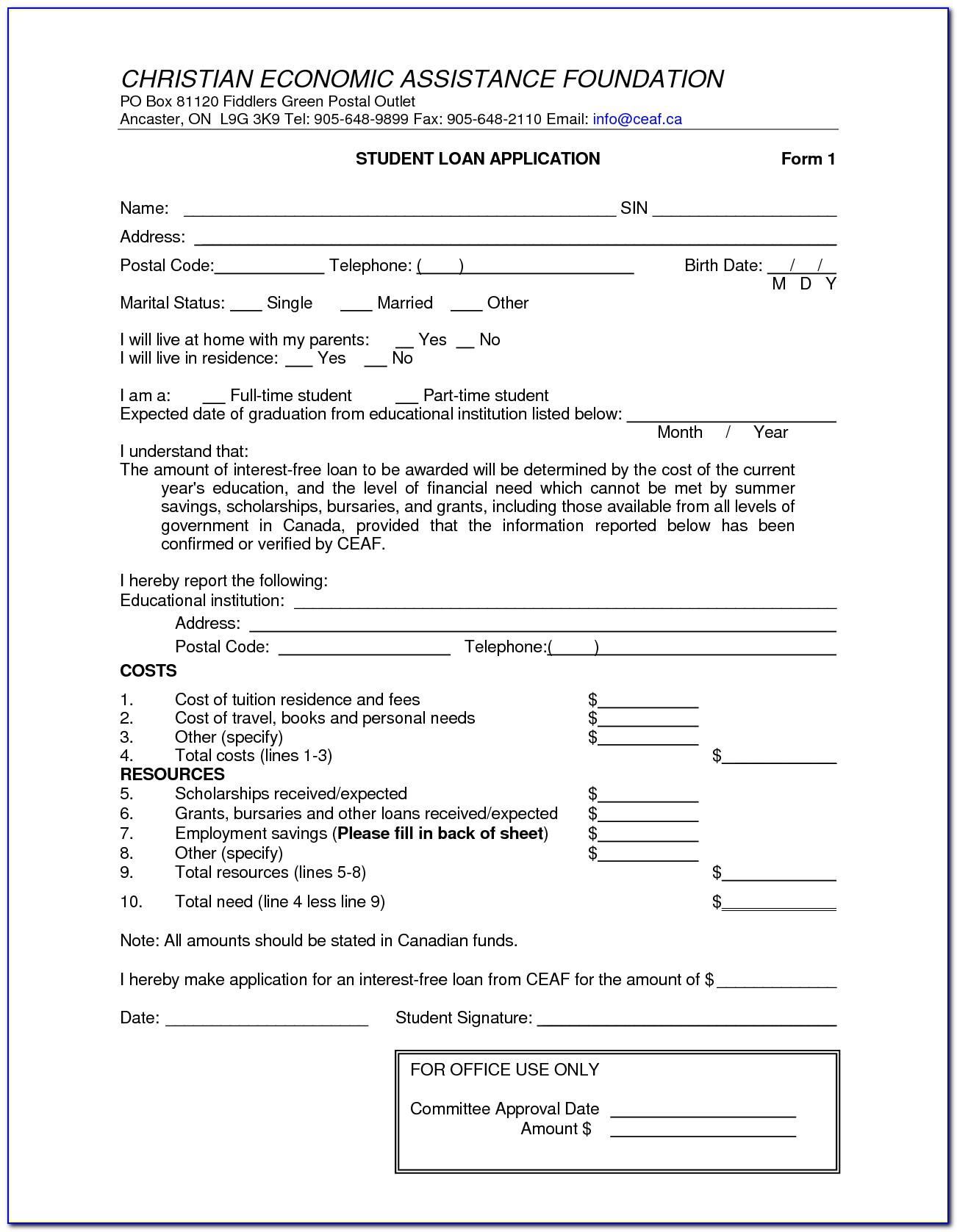 Free Private Loan Contract Template