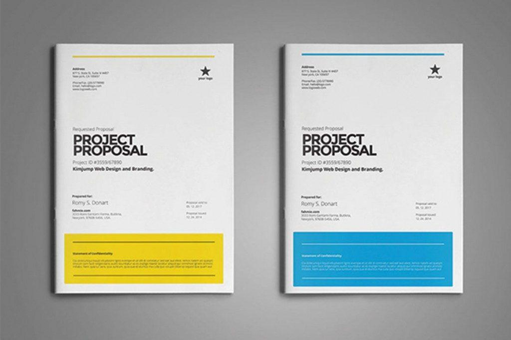 Free Proposal Template Psd