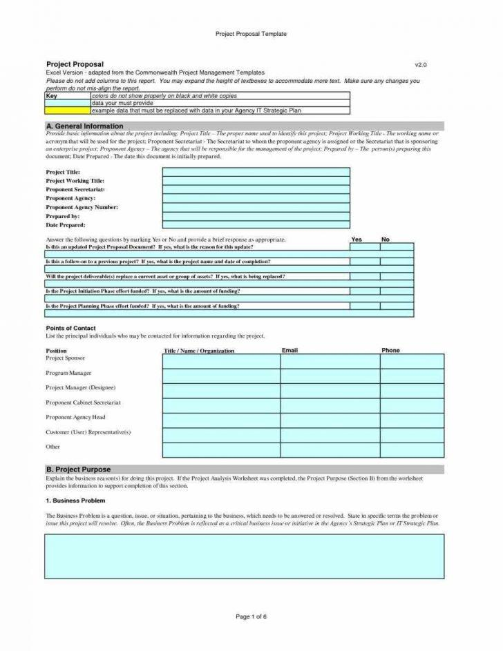 Free Proposal Templates For Microsoft Word