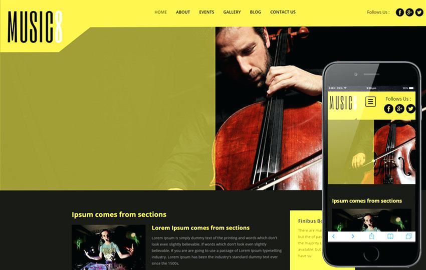Free Responsive Website Templates For Dreamweaver